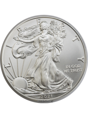 2021 American 1oz Silver Liberty Eagle One Dollar Coin