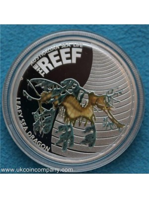 2009 - 2010 Australian sea life series the reef five coin silver proof set