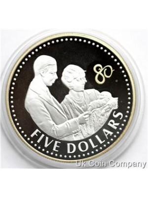 2006 Fiji Gold Silver Proof $5 Dollar Coin