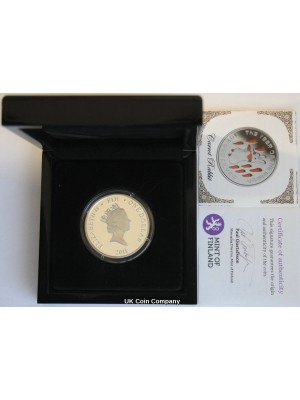 2011 Fiji Year Of Carrot Rabbit Silver Proof $1 One Dollar Coin