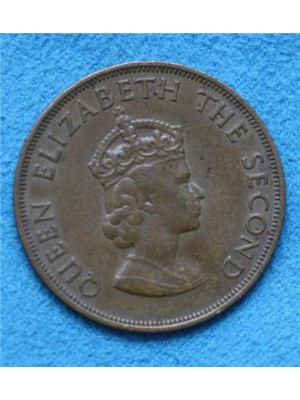 1960 jersey one twelfth of a shilling coin