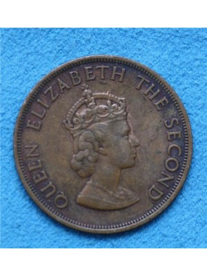 1964 jersey one twelfth of a shilling coin