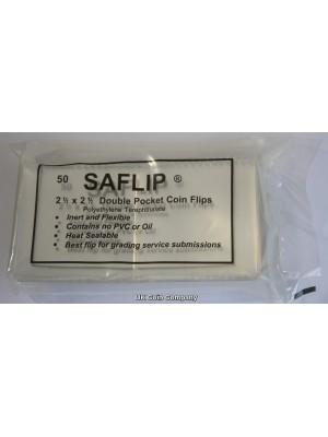 Saflip double pocket coin flips brand new sealed