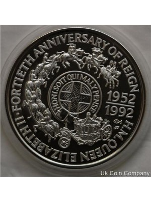 1992 Samoa Sterling Silver Proof $10 Ten Dollar Coin