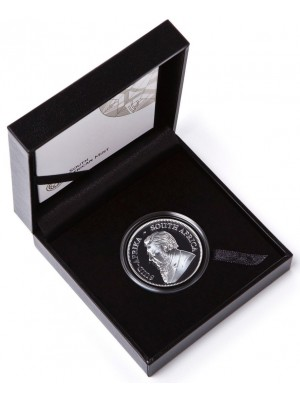 2019 South Africa Fine Silver Proof Krugerrand Coin Boxed Certificate