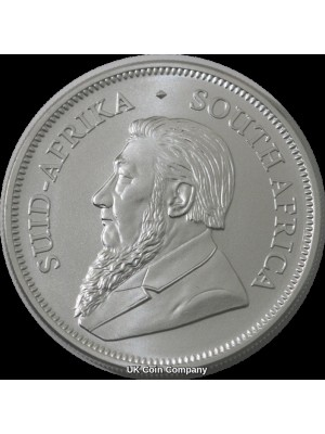2020  South Africa 1 oz Silver Krugerrand Uncirculated Coin