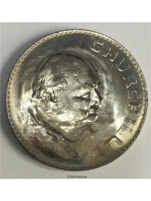 1965 Churchill Commemorative Crown Coin Uncirculated.