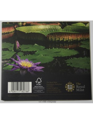 2009 kew Gardens Brilliant Uncirculated 50p Coin Pack Issued By The Royal Mint
