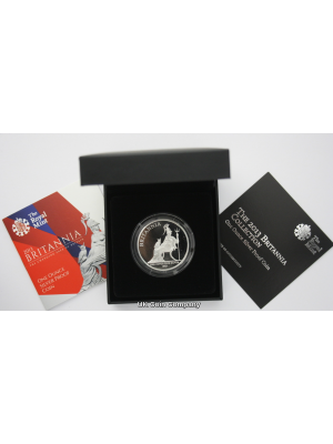 2013 Britannia Silver Proof £2 Coin In Original Royal MInt Packaging