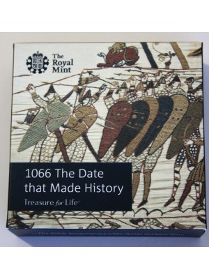 2016 Battle Of Hastings Silver Proof 50p Royal Mint Coin
