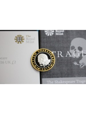 2016 Royal Mint Shakespear Tragedies £2 Silver Proof Coin New