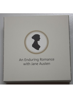 2017  Jane Austen 200th Anniversary £2 Two Pound Silver Proof  Coin Boxed certified New