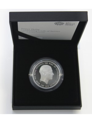 2017 Prince Philip UK £5 Silver Proof Coin Celebrating A Life Of Service Not For Himself But For His Country Sold Out At The Royal Mint