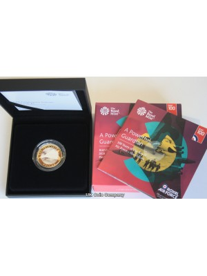 2018 RAF Vulcan Bomber UK £2 Silver Proof Piedfort Coin Issued By The Royal Mint