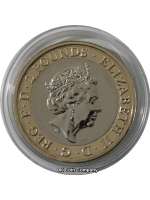 2019 D Day Landings £2 Two Pounds Coin Brilliant Uncirculated By The Royal Mint