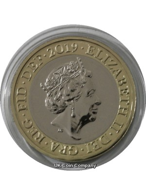 2019 Definitive Britannia £2 coin Brilliant Uncirculated By The Royal Mint