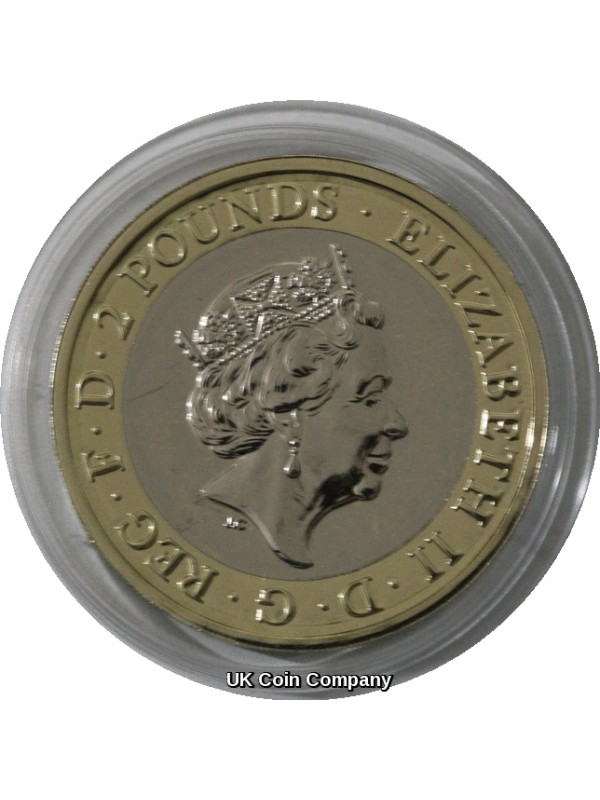 2019 Samuel Pepys £2 Two Pounds Coin Pack Brilliant Uncirculated From The Royal Mint