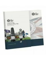 2019 Royal Mint 50 Years of the 50p Brilliant Uncirculated Fifty Pence Coin Set