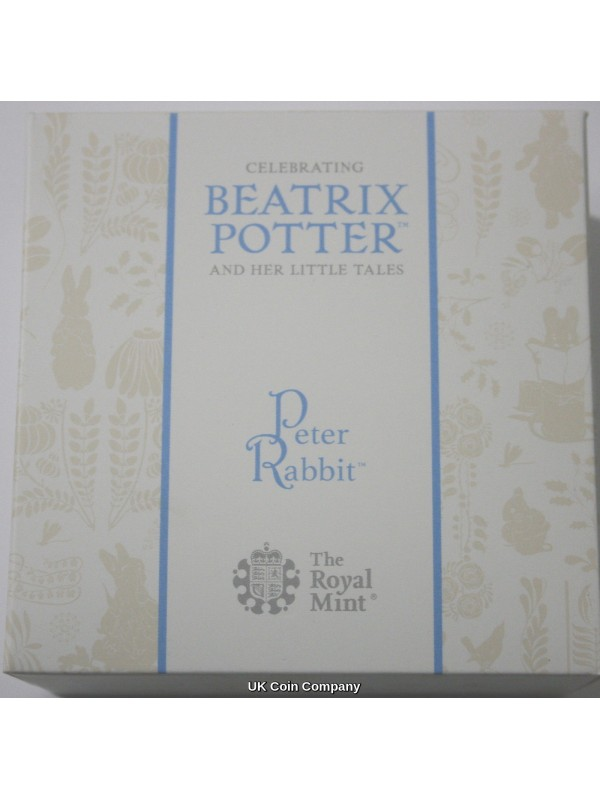 2019 Peter Rabbit 50p Fifty Pence Solid Gold Proof Royal Mint Coin