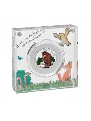 2019 New Gruffalo And Mouse Royal Mint Silver Proof 50p Fifty Pence Coin