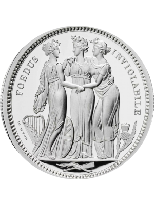 2020 Three Graces William Wyon Two Ounce Silver Proof Five pounds Coin New release coin from the Royal Mint that mirrors that of the original Pre Sale