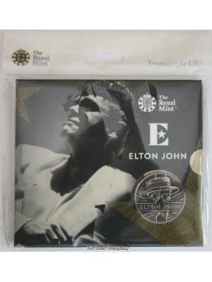 2020 Elton John limited Edition £5 Brilliant Uncirculated Coin Pack