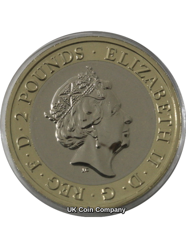 2020 Agatha Christie Brilliant Uncirculated £2 Two Pound Coin Royal Mint Pack Brand New
