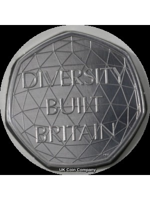 2020 Diversity 50p Fifty Pence Brilliant uncirculated Royal Mint Coin Pack