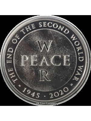 2020 End Of Second World War Brilliant Uncirculated £5 Royal Mint Coin Pack