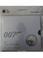 2020 James Bond UK £5 Brilliant Uncirculated Royal Mint Coin Pack Second Edition Wet Nellie