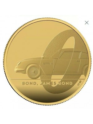 2020 Royal Mint Gold Proof 1 Oz James Bond 007 £100 Coin