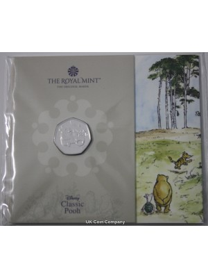 2020 Winnie the Pooh 50p Fifty Pence Brilliant uncirculated Royal Mint Coin Pack