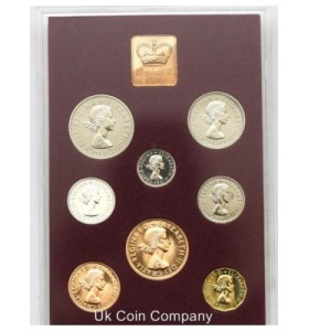 British proof coin sets (25)