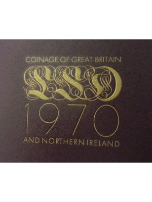 1970 uk proof coin set