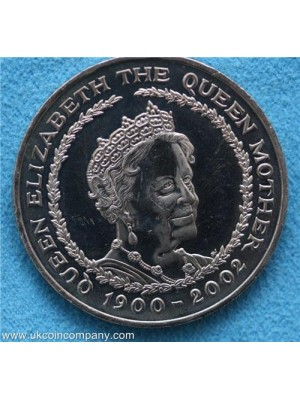 2002 united kingdom five pound coin