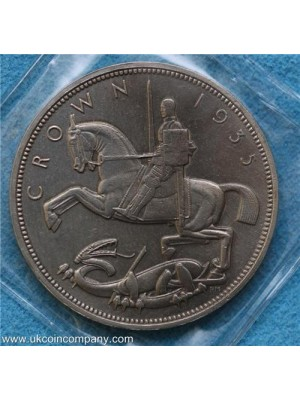 1935 George V Silver Crown Coin