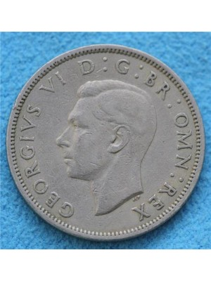 1951 george vi two shillings coin