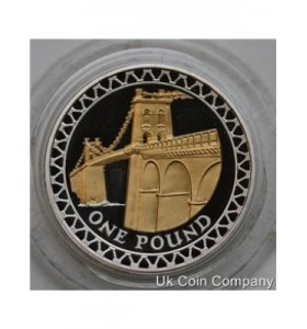 £1 silver proof british coins