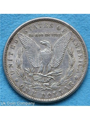 1889 american morgan silver dollar coin