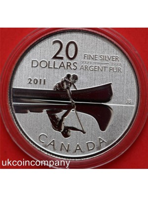 canada 2011 and 2012 $20 silver six coin set