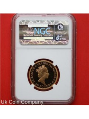 1987 royal mint first year britannia gold proof £50 1/2oz coin graded certified by ngc top grade pf70 ultra cameo