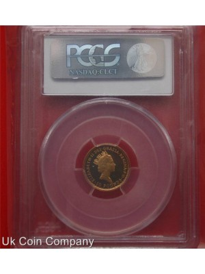 1988 united kingdom royal mint gold proof britannia £10 coin graded certified by pcgs top grade pr70