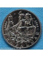 2005 battle of trafalgar brilliant uncirculated five pounds crown coin encapsulated