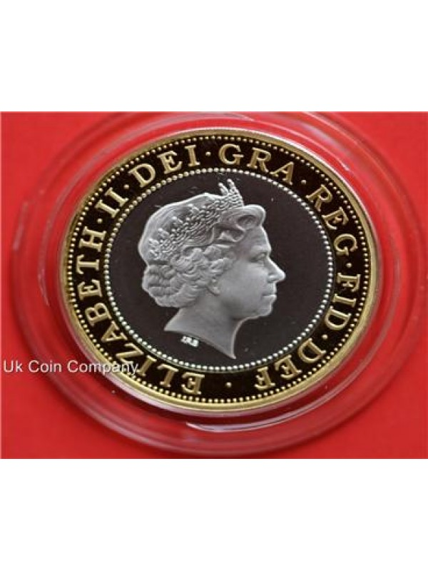 2006 Uk Silver Proof 2 Two Pound Coin Standing On The Shoulders Of Giants