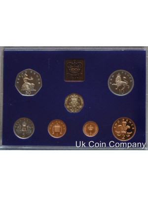 1982 uk decimal proof coin set
