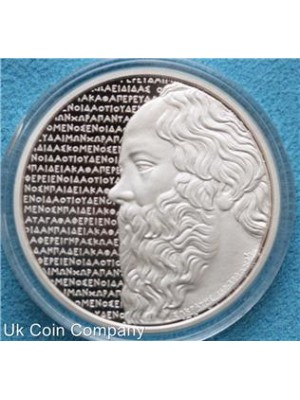 2012 greek socrates silver proof 10 euro coin