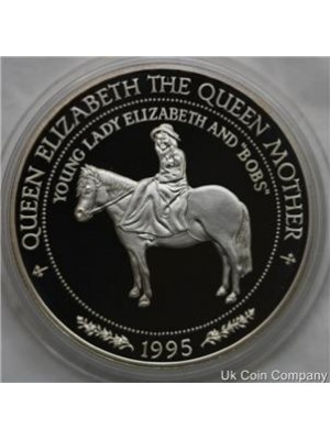 1995 western samoa 1oz sterling silver $10 dollar proof coin