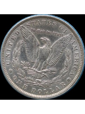 1900 american morgan silver dollar coin