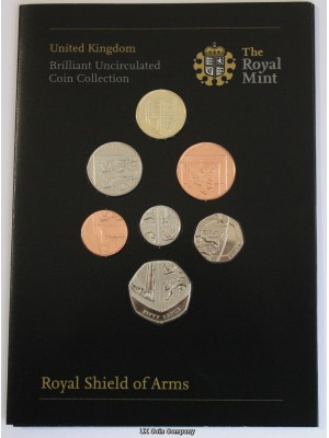 2008 Emblems Of Britain Brilliant Uncirculated Royal Mint Coin Collection.