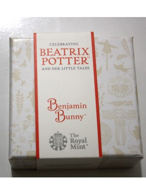 2017 Benjamin Bunny Silver Proof 50p Coin Boxed and certified by The British Royal Mint New issue